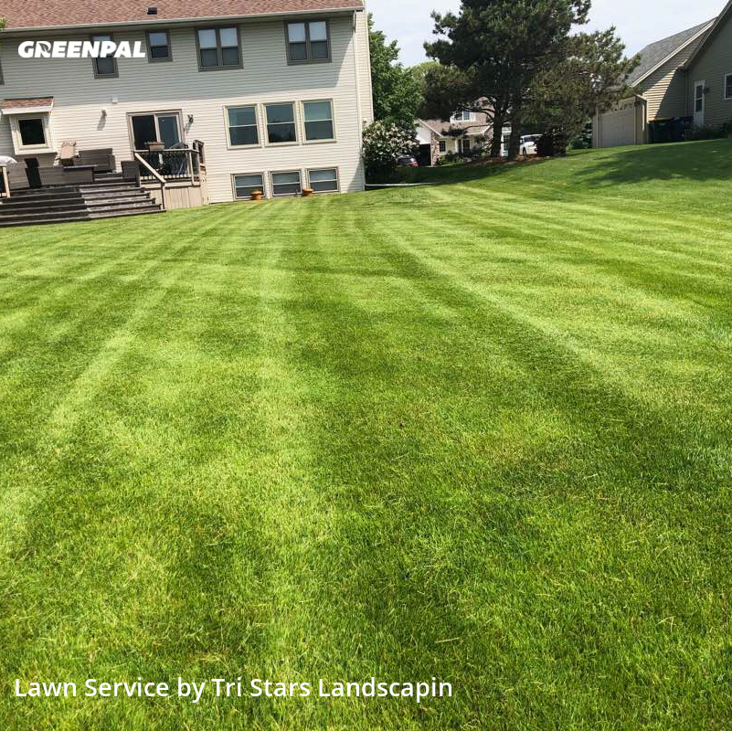 Lawn Care Servicein Oak Creek,53154,Grass Cut by Tri Stars Landscaping, work completed in Aug , 2020