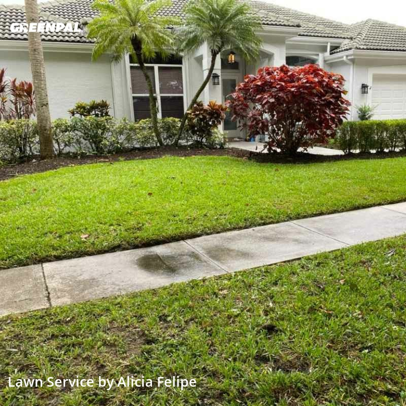 Yard Cuttingin Jupiter,33458,Lawn Care by Rosa's Landscaping , work completed in Jul , 2020