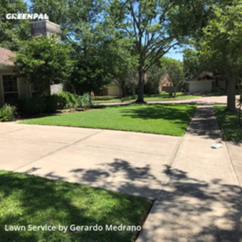 Yard Mowingin Sugar Land,77479,Lawn Mowing by Gm Landscaping Llc, work completed in May , 2020