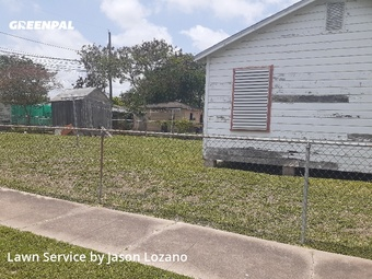 Lawn Mowingin Corpus Christi,78416,Grass Cutting by Eco Lawn Care, work completed in Jul , 2020