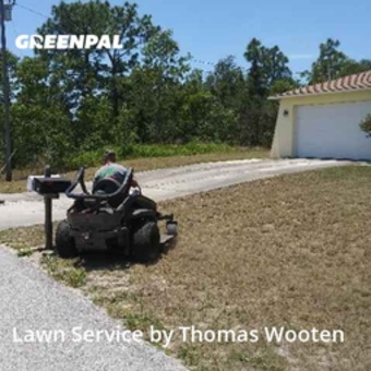 Lawn Maintenancein Spring Hill,34609,Lawn Cutting by Tom's All Season Law, work completed in May , 2020