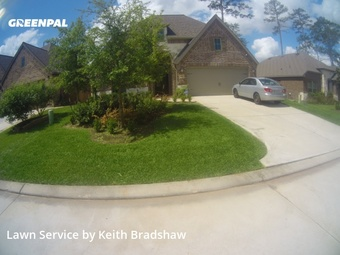 Lawn Mowin Conroe,77304,Lawn Service by Clean Lawn Services, work completed in Jul , 2020