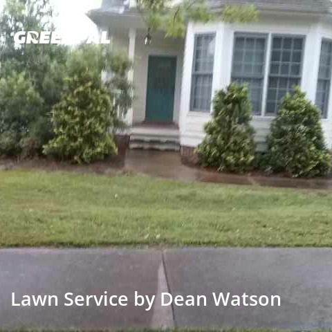 Lawn Maintenancein Wake Forest,27587,Grass Cutting by Dean's Lawn Care, work completed in Jul , 2020
