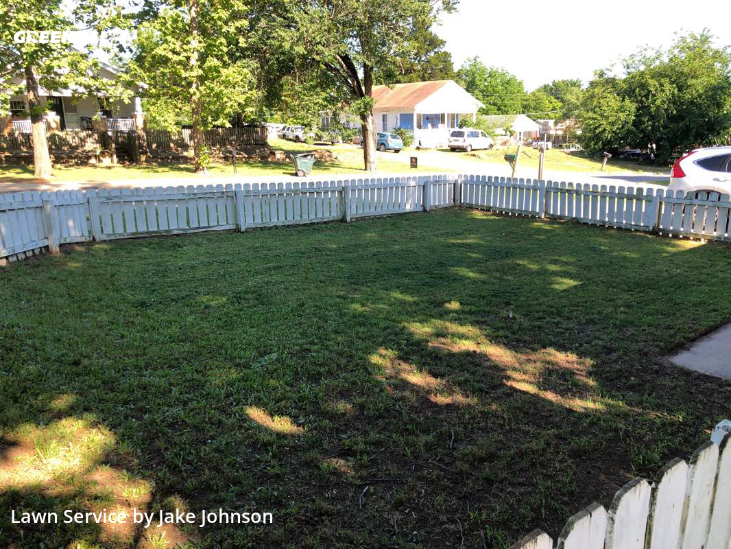 Lawn Maintenancein Sand Springs,74063,Lawn Cut by Mustang Mowing, work completed in Aug , 2020