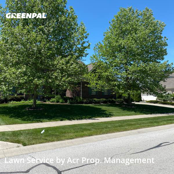 Lawn Care Servicein Zionsville,46077,Lawn Cut by Acr Prop. Management, work completed in Sep , 2020