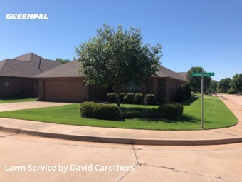 Grass Cuttingin Edmond,73034,Lawn Mowing by C Custom Lawn Care, work completed in Jul , 2020