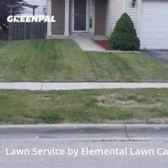 Lawn Mowingin Joliet,60435,Grass Cut by Elemental Lawn Care, work completed in Jul , 2020