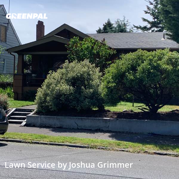 Lawn Mowingin Portland,97217,Lawn Mow by My Good Neighbor Pdx, work completed in Aug , 2020