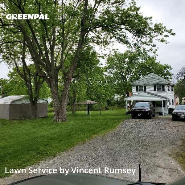 Yard Cuttingin Glen Burnie,21060,Lawn Mow by Precision Lawn Care , work completed in Sep , 2020