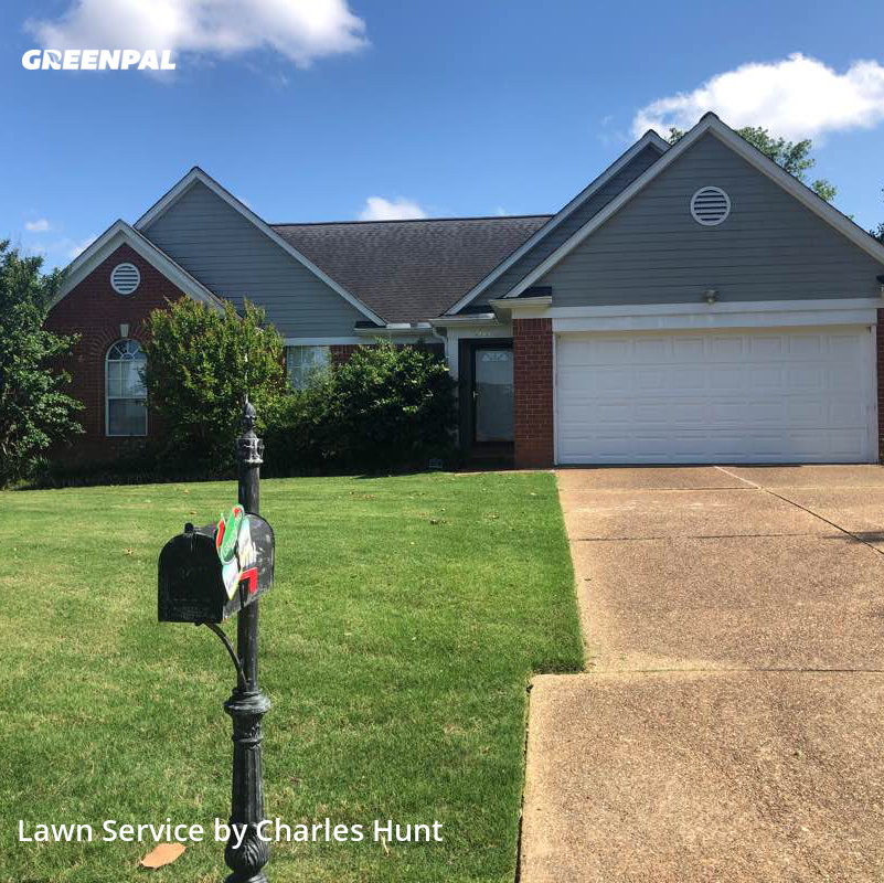 Lawn Mowin Olive Branch,38654,Lawn Care by River Town Pmg, work completed in Jul , 2020
