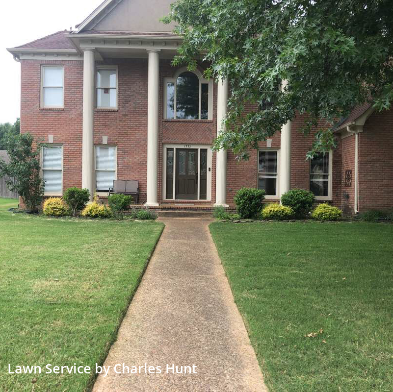 Grass Cuttingin Collierville,38017,Yard Cutting by River Town Pmg, work completed in Jul , 2020