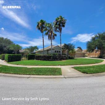 Lawn Cutin Palm Harbor,34685,Lawn Care by Lyons Pride Lawns, work completed in May , 2020