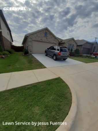 Grass Cutin Denton,76210,Lawn Care Service by Cowboy Cutt Lawn Care, work completed in Jul , 2020