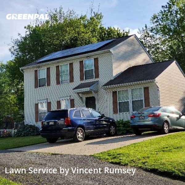 Yard Mowingin Owings Mills,21117,Lawn Cut by Precision Lawn Care , work completed in Jul , 2020
