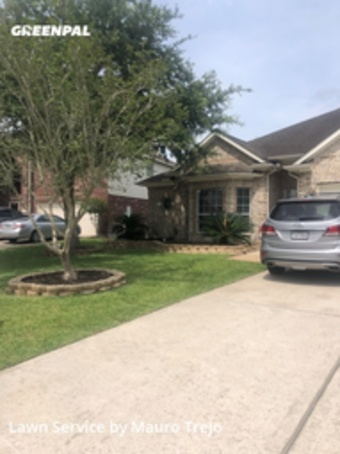 Yard Mowingin League City,77573,Lawn Cut by M&A Lawn, work completed in Jul , 2020