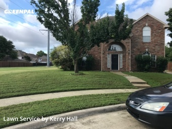 Grass Cutin Plano,75024,Lawn Care Service by Platinum Iv Lawn Co., work completed in May , 2020