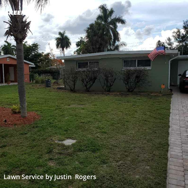 Grass Cutin Fort Myers,33919,Lawn Care by Rogers And Bronson , work completed in Sep , 2020