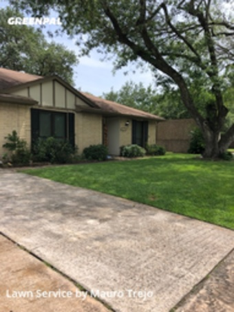 Lawn Mowin League City,77573,Lawn Mowing by M&A Lawn, work completed in Jul , 2020