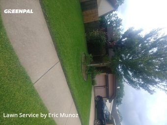 Lawn Servicein Sugar Land,77478,Lawn Cut by Eric Munoz Landscaping, work completed in May , 2020