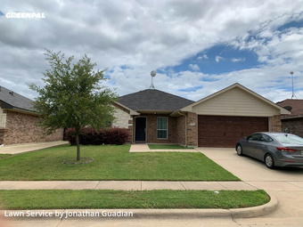 Grass Cuttingin Burleson,76028,Lawn Cutting by Lawns By G, work completed in Jul , 2020