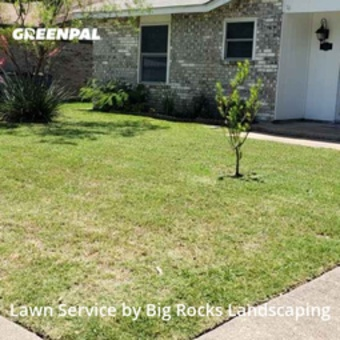 Lawn Mowingin Lancaster,75146,Grass Cutting by Big Rocks Landscaping, work completed in Jul , 2020
