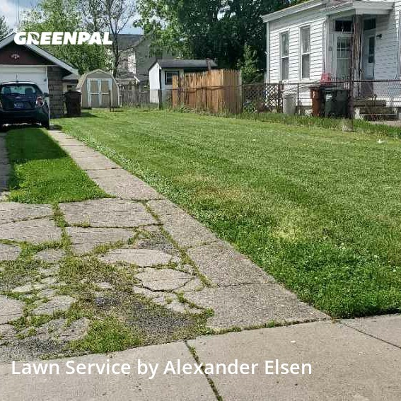 Lawn Maintenancein Covington,41015,Lawn Mowing Service by Right Cut Lawn Care, work completed in Sep , 2020