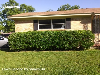 Lawn Mowingin Garland,75043,Lawn Care by Shawns Lawns, work completed in Jul , 2020