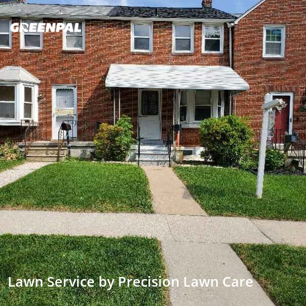 Lawn Care Servicein Towson,21286,Yard Mowing by Precision Lawn Care , work completed in Sep , 2020