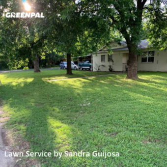Lawn Mowing Servicein Burleson,76028,Lawn Mow by Raccoon Lawn Service, work completed in Jul , 2020