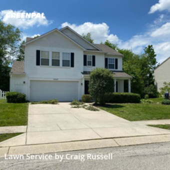 Grass Cuttingin Noblesville,46062,Grass Cutting by Acr Prop. Management, work completed in May , 2020