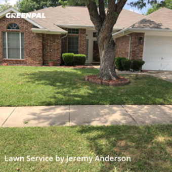 Grass Cutin Fort Worth,76180,Lawn Mowing by Jer's Lawn Care, work completed in May , 2020