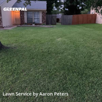 Yard Cuttingin Grapevine,76051,Yard Mowing by Peters Lawn Care, work completed in Sep , 2020