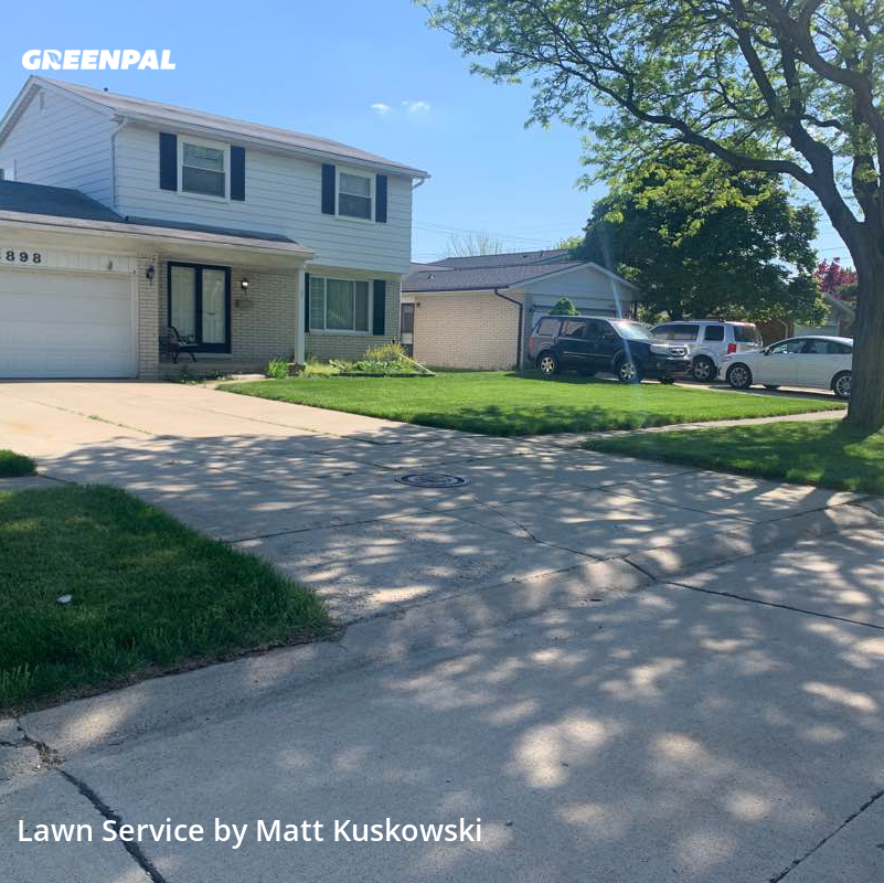 Yard Cuttingin Sterling Heights,48312,Lawn Mowing by 1st Complete, work completed in Jul , 2020