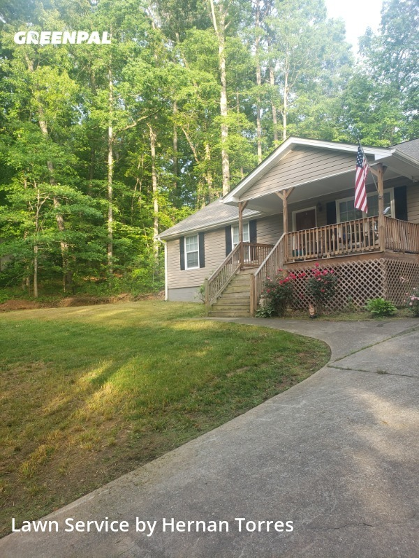 Lawn Cuttingin Suwanee,30024,Grass Cut by Father & Son, work completed in Sep , 2020