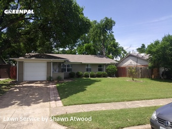 Lawn Care Servicein Richardson,75080,Lawn Cut by Cr8tive Vision Lawn, work completed in Jul , 2020