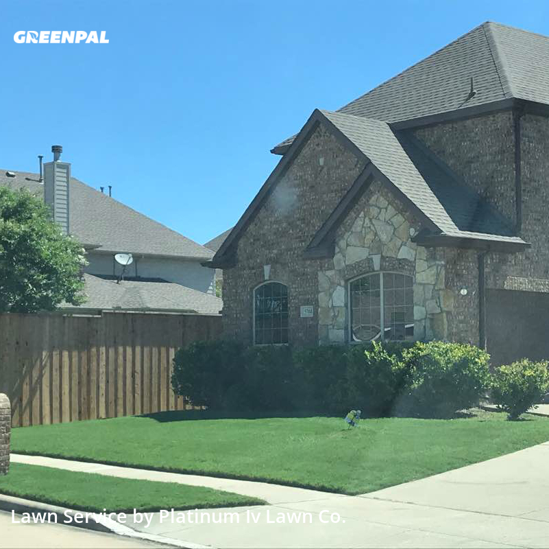 Lawn Mowin Sachse,75048,Grass Cutting by Platinum Iv Lawn Co., work completed in Jul , 2020