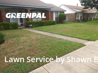 Yard Mowingin Mesquite,75150,Grass Cutting by Shawns Lawns, work completed in Jul , 2020