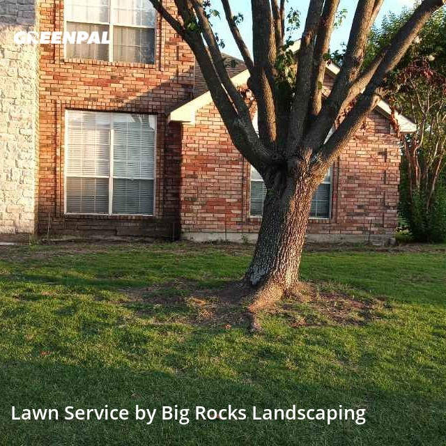 Grass Cutin Sachse,75048,Lawn Mowing Service by Big Rocks Landscaping, work completed in Jul , 2020