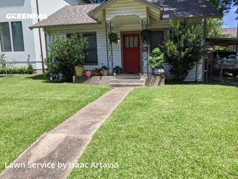 Grass Cuttingin Bellaire,77401,Yard Mowing by N.S. Landscaping, work completed in Jul , 2020