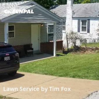 Yard Mowingin Ferguson,63135,Lawn Care by Big Ts Lawn Care, work completed in Jul , 2020