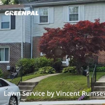 Lawn Carein Parkville,21234,Grass Cutting by Precision Lawn Care , work completed in May , 2020