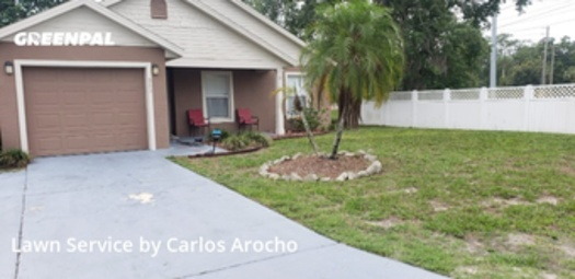 Lawn Carein Altamonte Springs,32714,Lawn Service by Arocho Landscaping , work completed in Aug , 2020