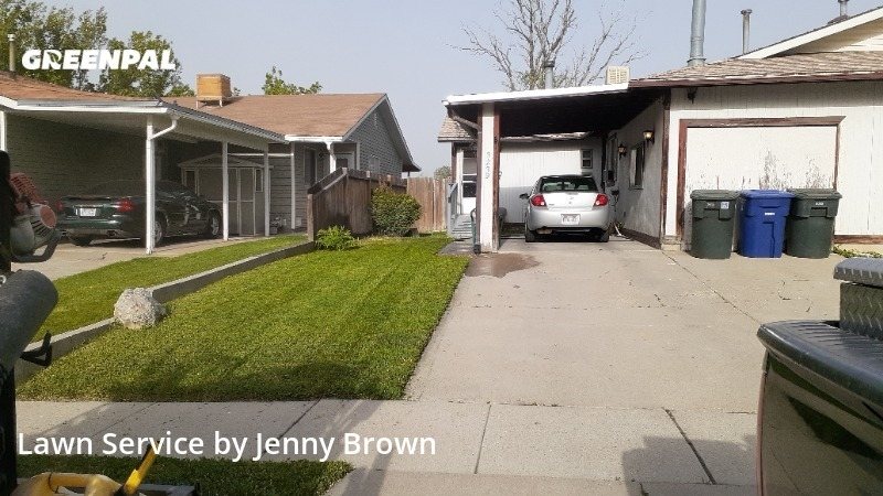 Yard Cuttingin West Valley City,84119,Lawn Mowing by Tri Star  Property  , work completed in Aug , 2020