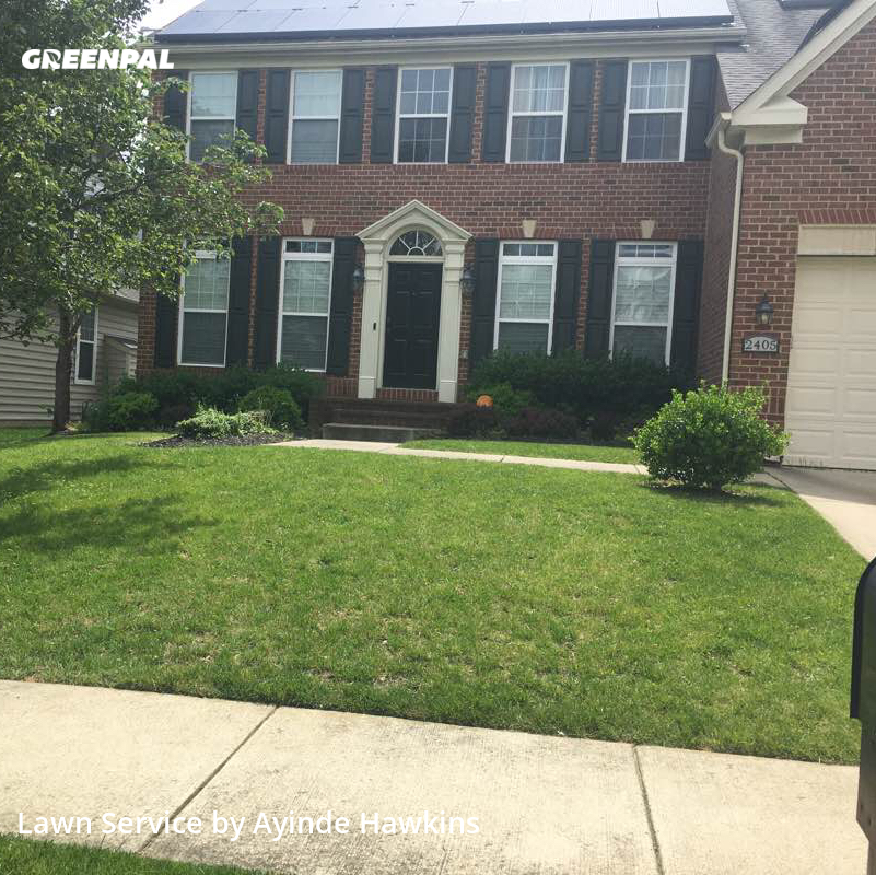 Lawn Carein Upper Marlboro,20774,Grass Cut by A&A Landscaping, work completed in Sep , 2020