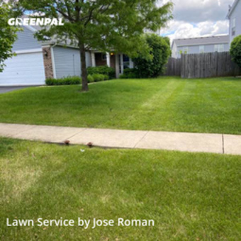 Lawn Mowin Joliet,60435,Grass Cutting by Green Cuts Lawn Care, work completed in Jul , 2020