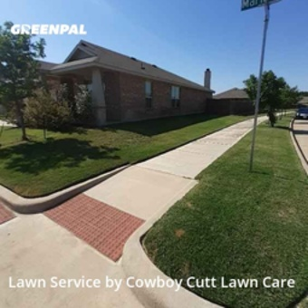 Lawn Cutin Denton,76208,Lawn Care Service by Cowboy Cutt Lawn Care, work completed in Jul , 2020