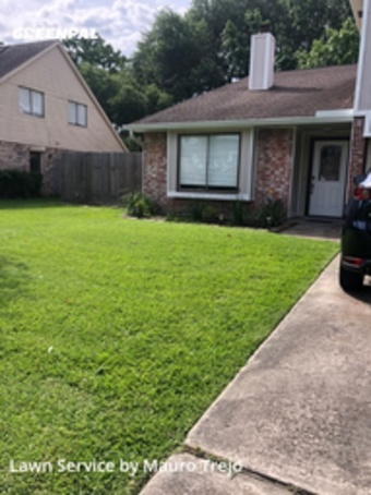 Grass Cuttingin League City,77573,Yard Cutting by M&A Lawn, work completed in Jul , 2020