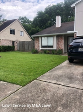 Yard Cuttingin League City,77573,Lawn Mow by M&A Lawn, work completed in Jul , 2020
