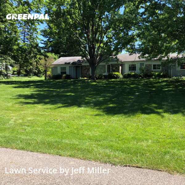 Lawn Mowin Beverly Hills,48025,Yard Cutting by Millers Property Ser, work completed in Jul , 2020