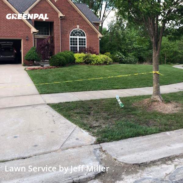 Lawn Cuttingin Novi,48375,Lawn Cut by Millers Property Ser, work completed in Jul , 2020
